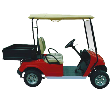 Caddyman Utility – 2 Seater with Small Load Bin