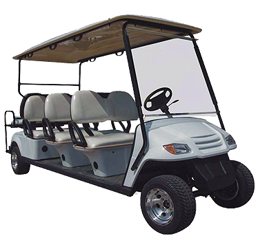 Caddyman 8B – 8 Seater Golf Car