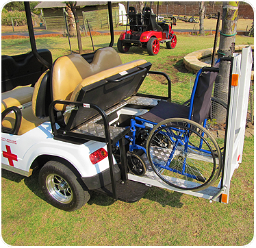Patient & Wheelchair Transporter