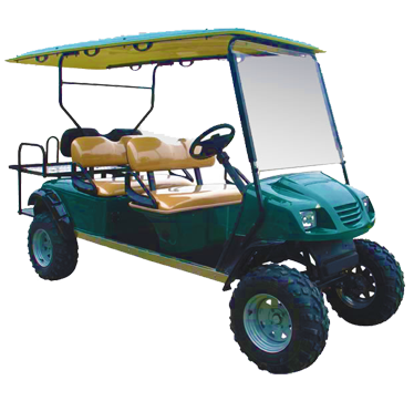 Bushman 6 – 6 Seater Hi-Rise Bush Car