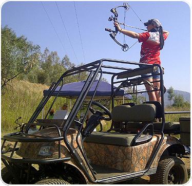 Xtreme – 4 Seater Hi-Rise Hunting Car